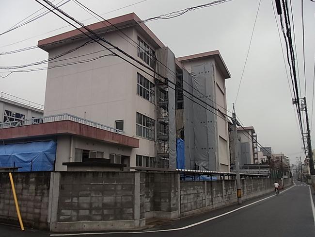 愛媛県立松山南高等学校の改修工事_b0186200_20511824.jpg