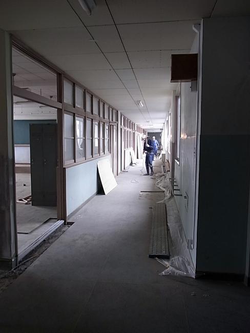 愛媛県立松山南高等学校の改修工事_b0186200_2051317.jpg
