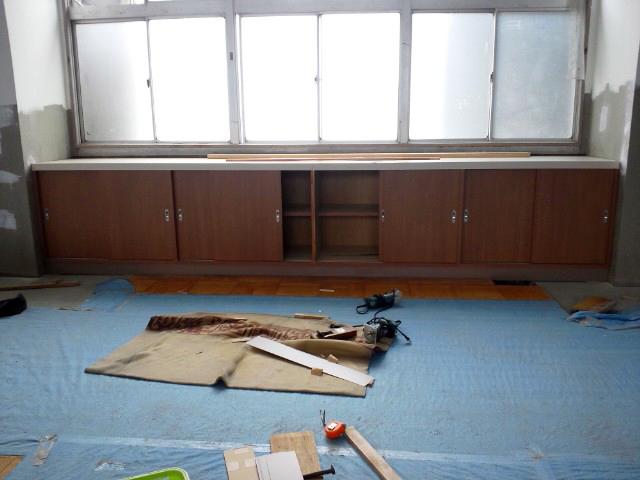 愛媛県立松山南高等学校の改修工事_b0186200_22422866.jpg