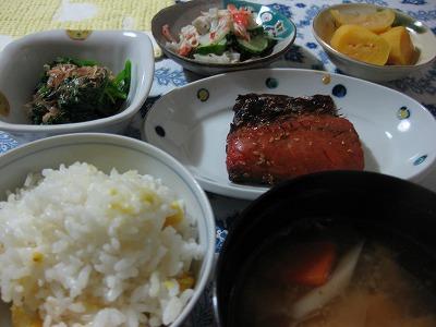 鯖定食♪_f0116812_1903857.jpg