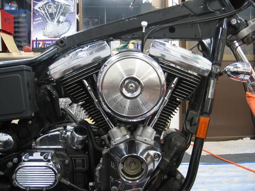 EVOエンジン組み付け _a0257316_19191864.jpg