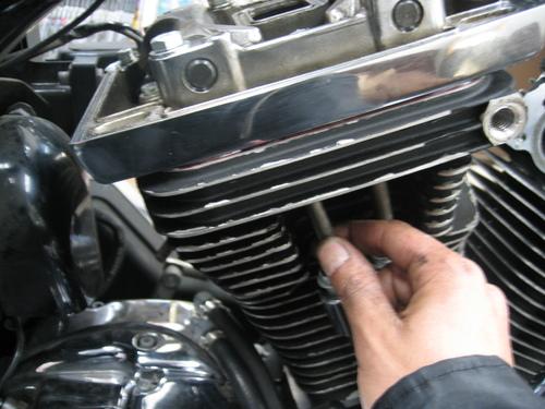 EVOエンジン組み付け _a0257316_1919486.jpg