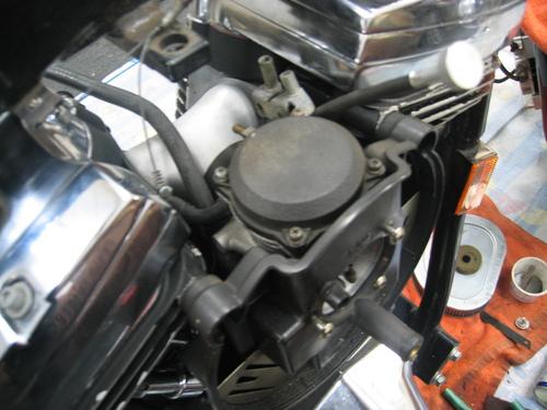 EVOエンジン組み付け _a0257316_19212061.jpg