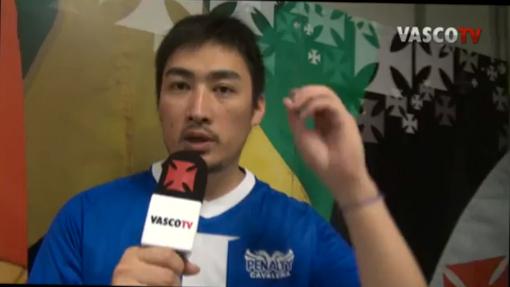 from RIO 2012☆久々の出演:EdmundoやRoberto Dinamiteと同じマイクを持ちました。_b0032617_13473414.jpg