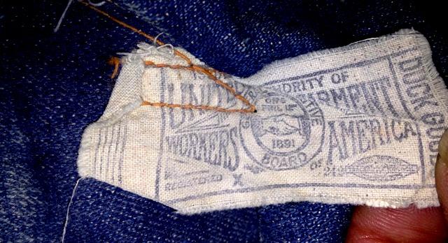 アメリカ仕入れ情報#60 1890年~ストロングホールド バックルバック パンツ!_c0144020_2002366.jpg