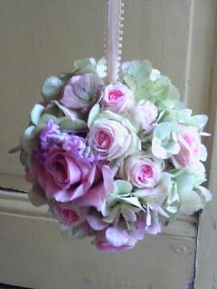 かわいい芸術家・春の花あしらい。。。_a0229658_17133279.jpg