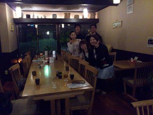 辺見旅館で夕食会_b0106766_13484225.jpg