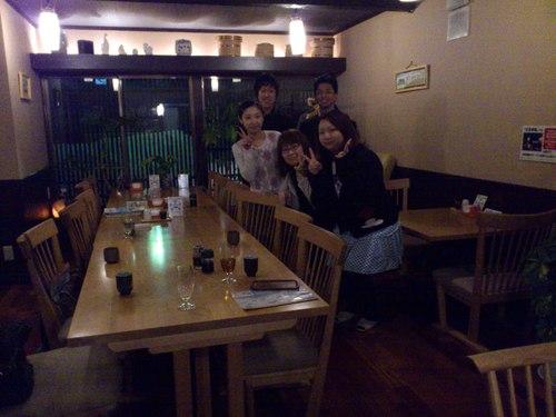辺見旅館で夕食会_b0106766_13484323.jpg