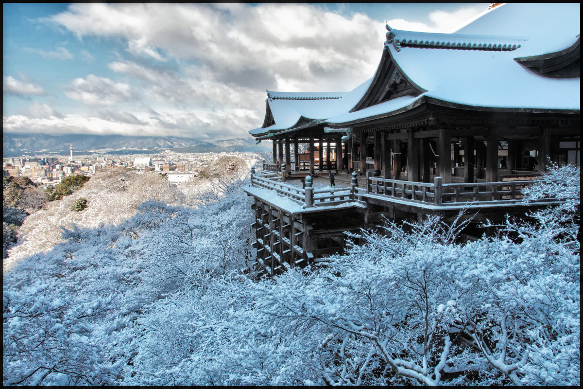 雪景色 <京都> 清水寺_f0021869_20543560.jpg