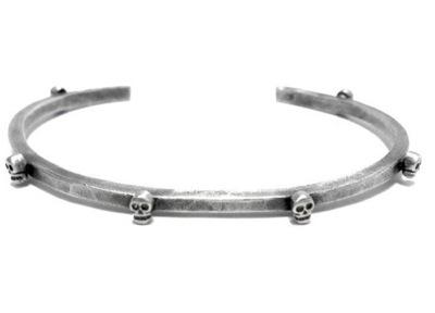 Bing Bang Jewelry Tiny Skull Cuff Oxidized Silver Plate_f0111683_12531728.jpg