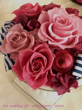 ご結婚のお祝いつづきます。。_d0144095_15434280.jpg
