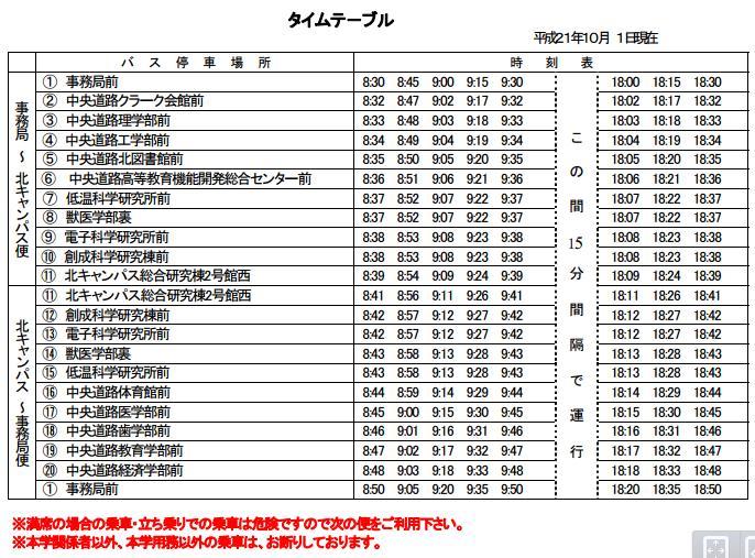 構内循環バスと送別会_c0025115_19521431.jpg