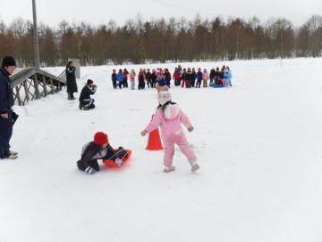 1・2年生のスケート記録会。_b0047734_22341418.jpg