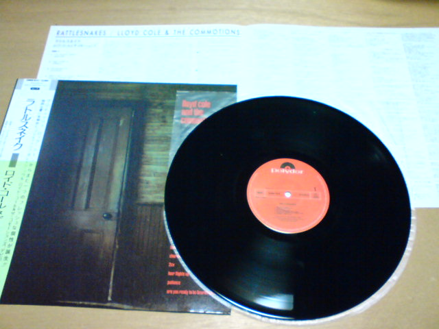 Rattlesnakes / Lloyd Cole & The Commotions_c0104445_22265644.jpg