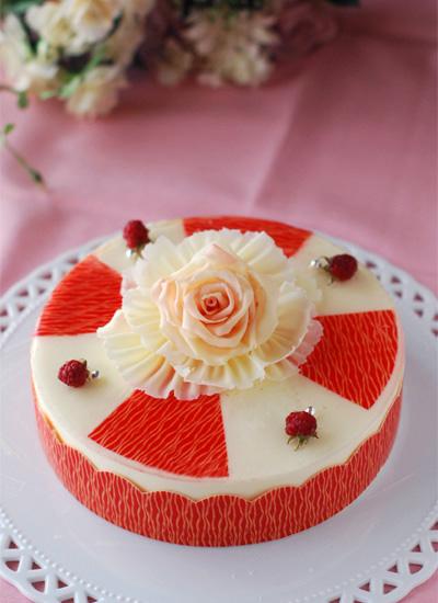 レアチーズケーキ_c0169657_10104965.jpg