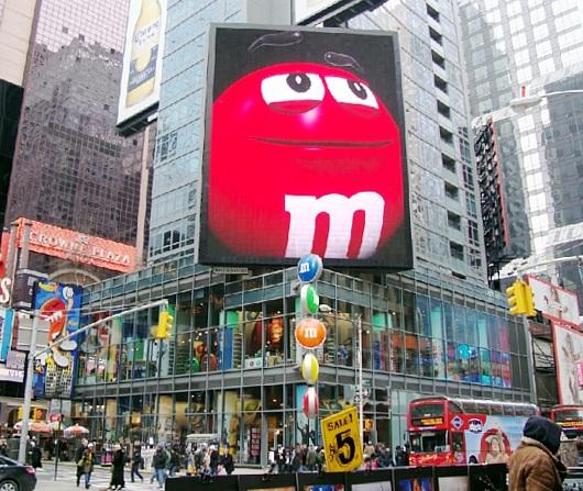 NYのタイムズスクエアにあるM&M\'s World Store NYC_b0007805_065954.jpg