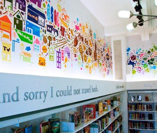 ニューヨークにはこんな楽しそうな公立小学校の図書館も_b0007805_23561326.jpg
