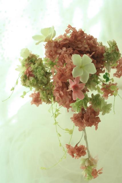 『花時間』冬号 生徒さんの自慢と、刈り取られたブーケと、老人と海_a0042928_19535178.jpg