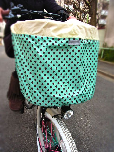 おしゃれ FRONT BASKET COVER Unilocks_b0212032_21115365.jpg