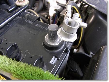 ランエボ バッテリー交換_c0147448_15585023.jpg
