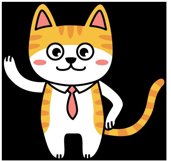 愛猫のビビ君を、マスコットキャラクターにしたい、とのご要望で、その名も、... キャラクター