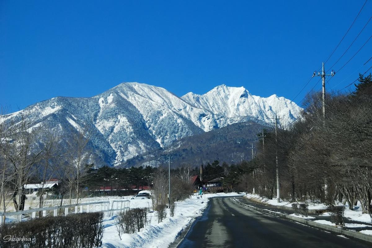 八ヶ岳連峰・_c0124055_19593038.jpg