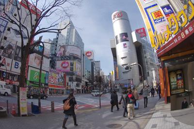 2月28日(火)今日の渋谷109前交差点_b0056983_146315.jpg
