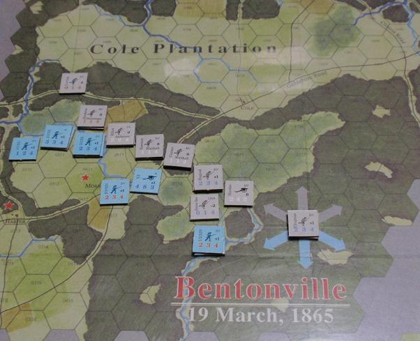 <VG>Across 5 Aprils「ベントンビルの戦い」をソロプレイ_b0162202_18181250.jpg