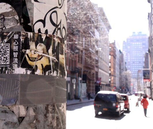 春が近づいてきたニューヨークのSOHO_b0007805_14511198.jpg