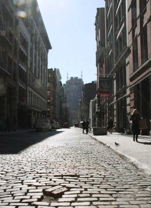 春が近づいてきたニューヨークのSOHO_b0007805_14512584.jpg