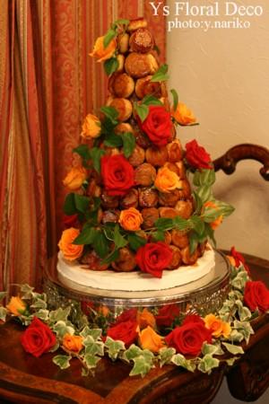 ケーキのお花_b0113510_1451755.jpg