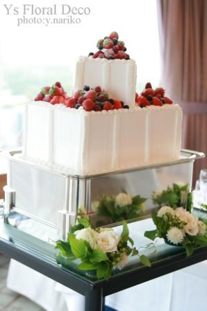 ケーキのお花_b0113510_1452369.jpg
