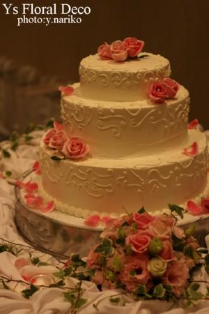 ケーキのお花_b0113510_1454374.jpg