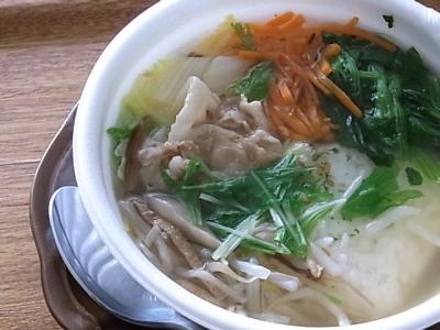 ++サークルKサンクスの「1日1/3野菜の塩スープごはん」++_e0140921_1695469.jpg