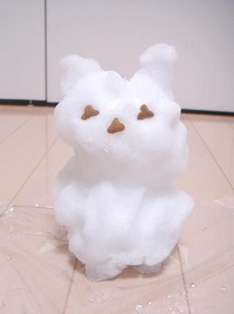 「モヘアと雪だるま」_e0157129_18105763.jpg
