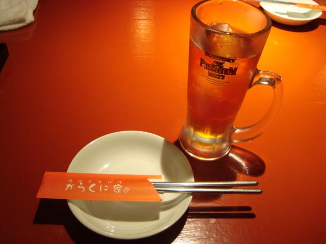芝大門「韓国家庭料理 からくに家」へ行く。_f0232060_2412.jpg