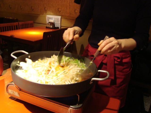 芝大門「韓国家庭料理 からくに家」へ行く。_f0232060_294480.jpg