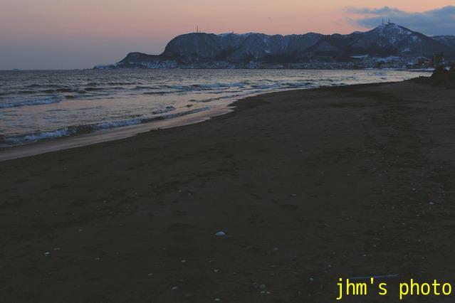 大森浜の黄昏_a0158797_23492838.jpg