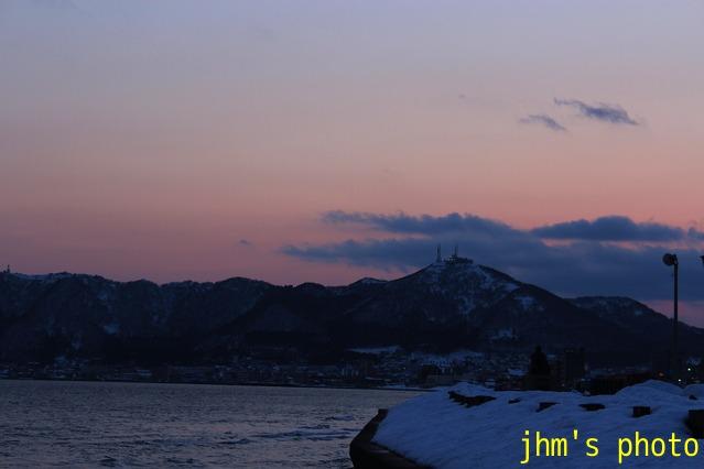大森浜の黄昏_a0158797_2350492.jpg