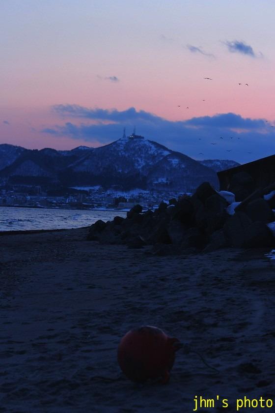 大森浜の黄昏_a0158797_23511369.jpg
