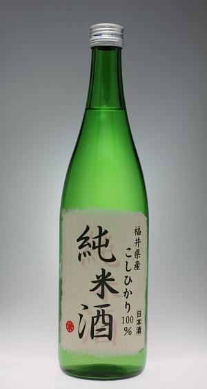 明の鶴 コシヒカリ100%純米酒 [力泉酒造]_f0138598_20215510.jpg