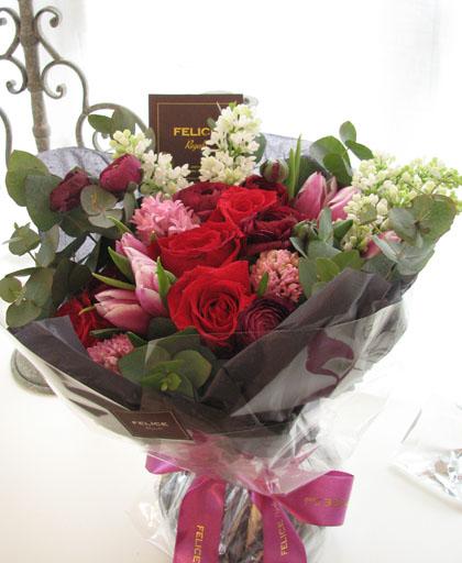 バレンタインの花束_f0134809_305058.jpg