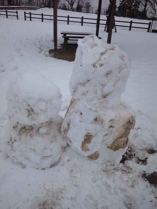 雪遊び!_f0214534_8331787.jpg