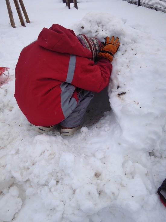 雪遊び!_f0214534_8351669.jpg