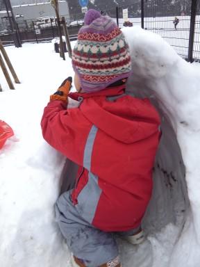 雪遊び!_f0214534_836271.jpg