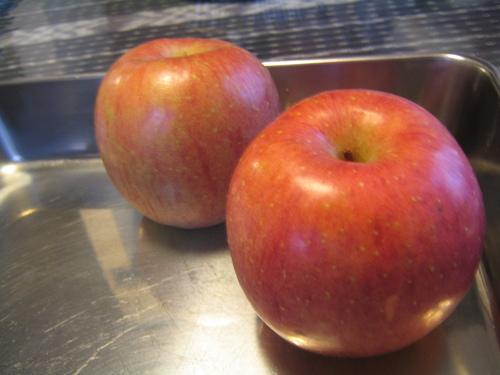 ①食べられるケーキ作り♪ りんごのタルト_b0187479_10154598.jpg