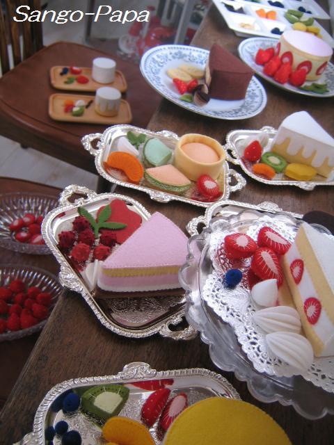 ①食べられるケーキ作り♪ りんごのタルト_b0187479_11282438.jpg