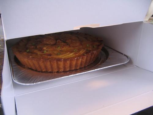 ①食べられるケーキ作り♪ りんごのタルト_b0187479_11423199.jpg