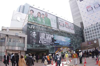 3月1日(木)今日の渋谷109前交差点_b0056983_19245744.jpg