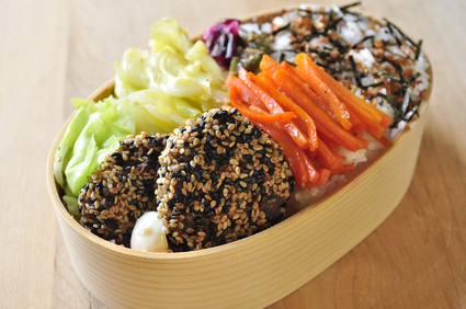 ヘルシーな野菜中心のお弁当_b0171098_8264486.jpg